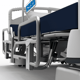 5000 Ultra Low Hospital Bed