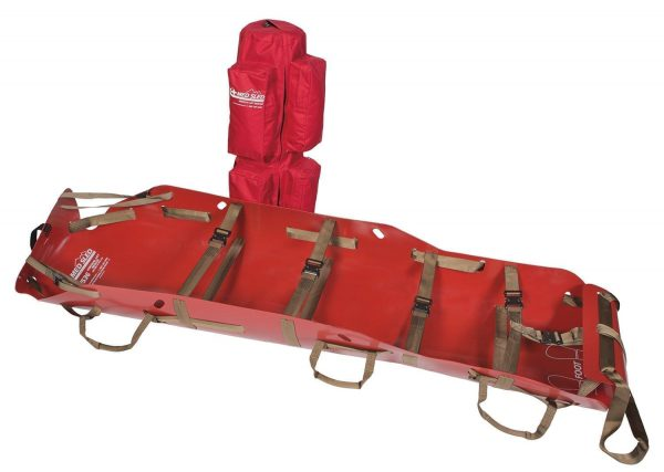 Vertical Lift Rescue Sled